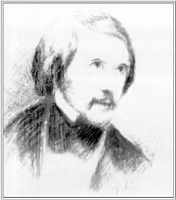Н.К.РЕРИХ  Портрет  Н.В.Гоголя. 1891